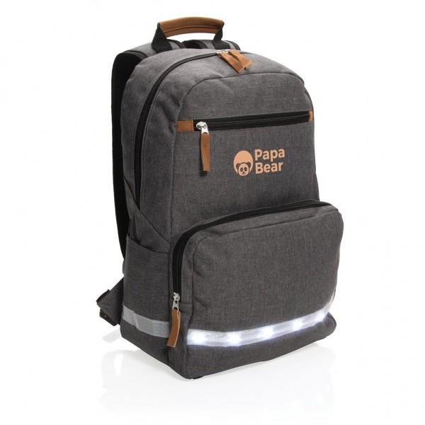 """13"""" Laptop-Rucksack mit LED Licht"""