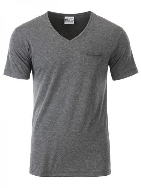 T-Shirt Herren mit modischer Brusttasche
