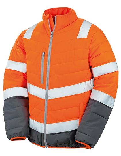 Mens Soft Padded Safety Jacket