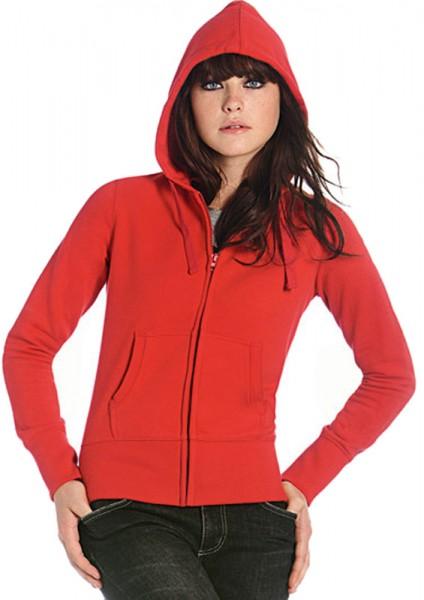 Hooded Full Zip Sweat/Women