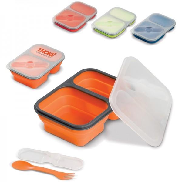 Faltbare Silikon Brotbox