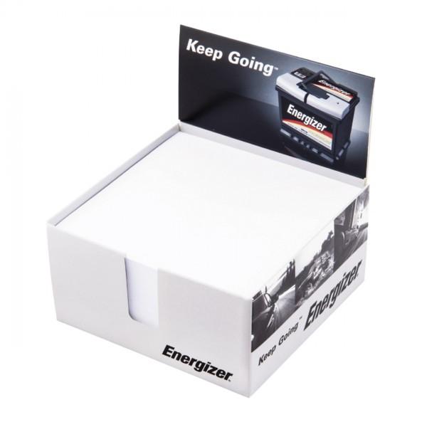 Zettelspeicher Karton-mit Display