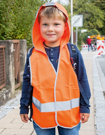 Kids hooded Safety Vest