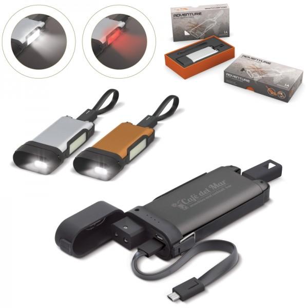 Adventure Powerbank Taschenlampe 5000MAH