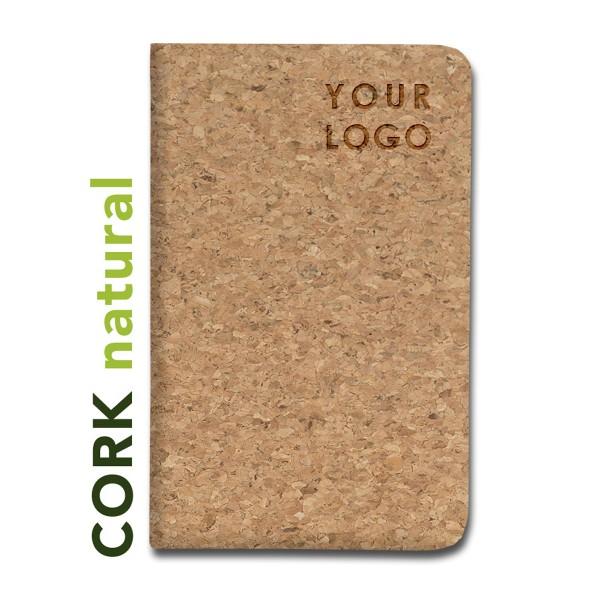 Notizbuch aus Cork