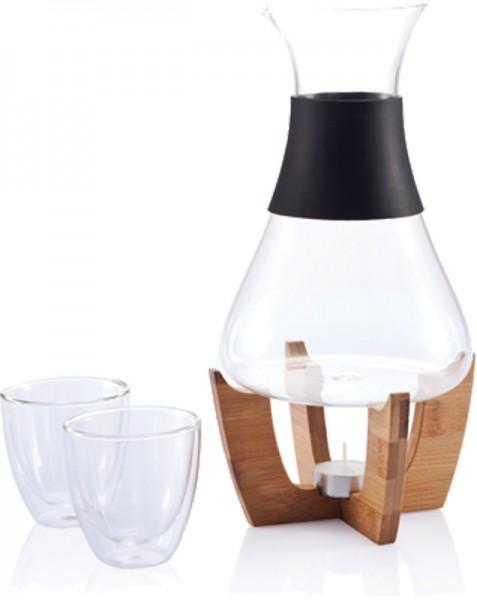 Glühweinset mit Gläsern