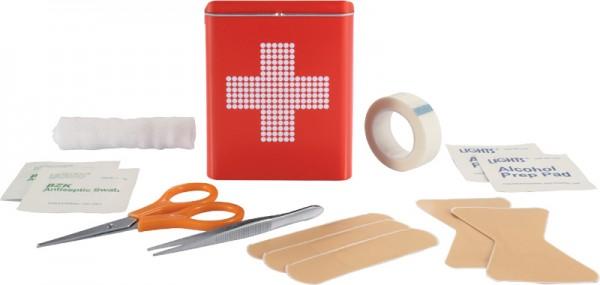 Erste Hilfe Zinnbox