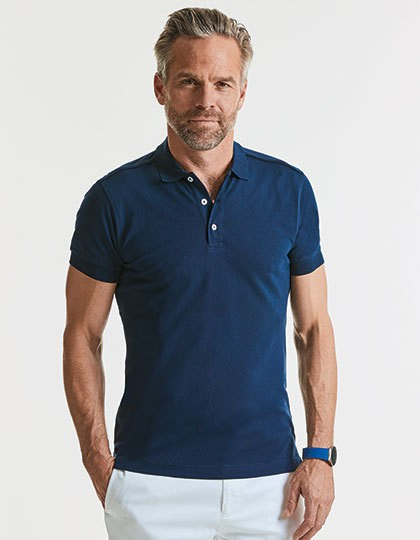 Stretch Polo Herren