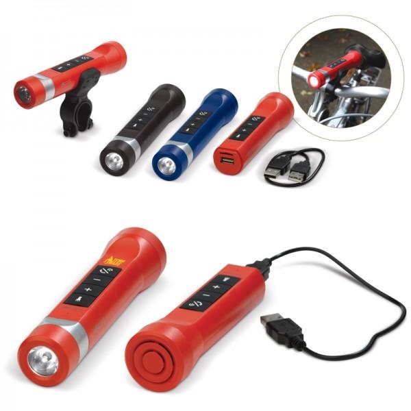 Powerbank Lautsprecher Taschenlampe 2200MAH