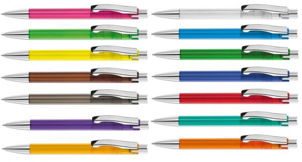 Kugelschreiber Candy Transparent