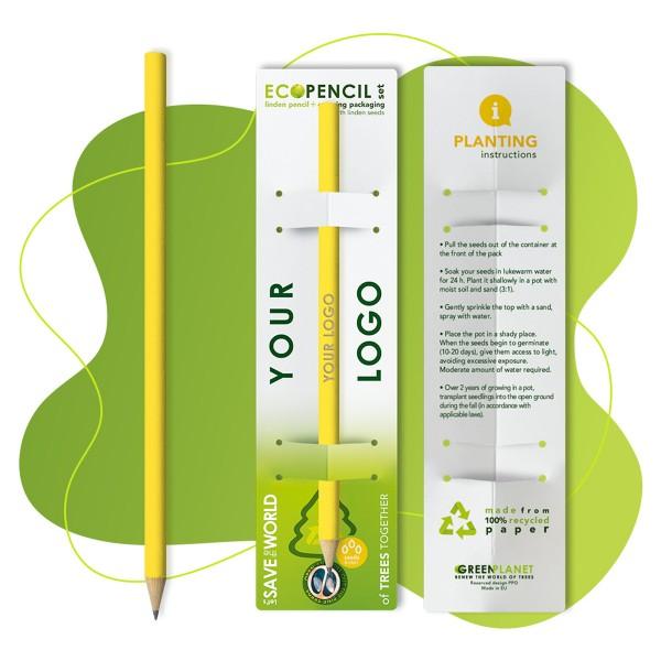 Eco Bleistift aus Lindenholz