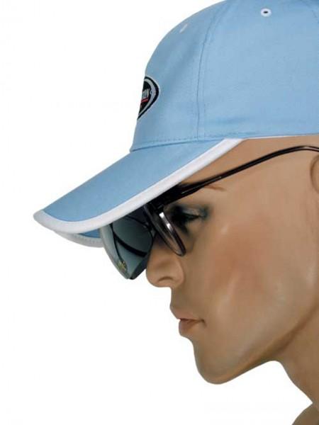 Cap mit integrierter Sonnenbrille